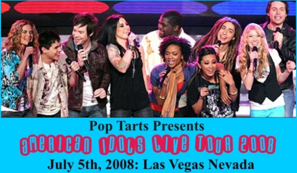 American Idol Tour, Las Vegas Nevada 2008