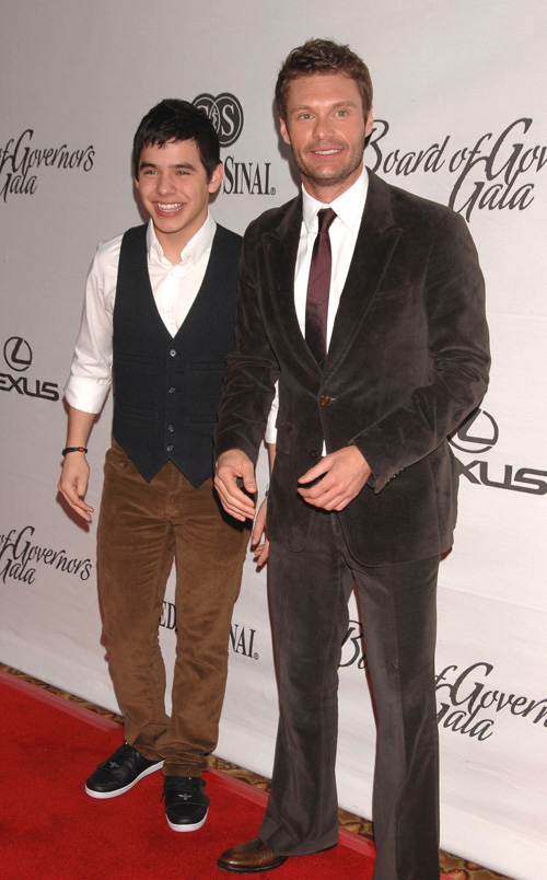 David Archuleta and Ryan Seacrest