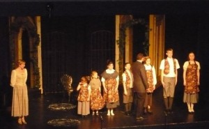 Maria, Captain Von Trapp and Children
