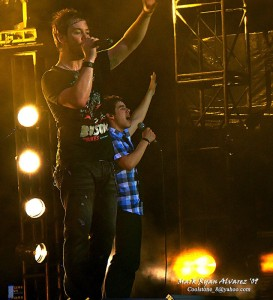 David Cook and David Archuleta in Manila