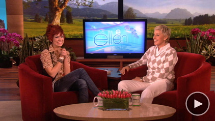 Lacey Brown and Ellen