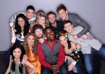 American Idol Season 10 Top 11 Singers