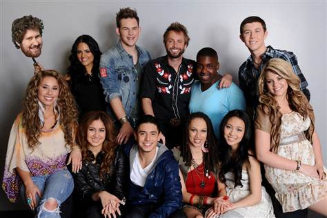 American Idol Season 10 Top 12