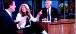 Piers Morgan, Lauren Alaina and Jay Leno On The Tonight Show