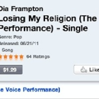 The Voice's Dia Frampton Is Leading The Pack On ITunes