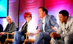 Howie Mandel, Sharon Osbourne, Piers Morgan and Nick Cannon from America's Got Talent