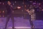 Landau Eugene Murphy Jr. and Patti Labelle perform at America's Got Talent Season Six Finale