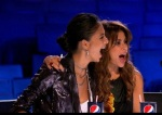 The X Factor Judges Nicole Scherzinger and Paula Abdul