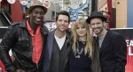 Season Two Top Four Finalists From The Voice: Chris Mann, Juliet Simms, Jermaine Paul and Tony Lucca