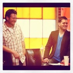 Blake Shelton and Michael Buble