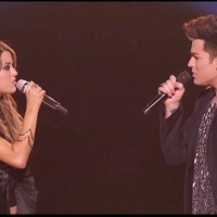 Angie Miller And Adam Lambert Perform A Haunting Version Of Titanium