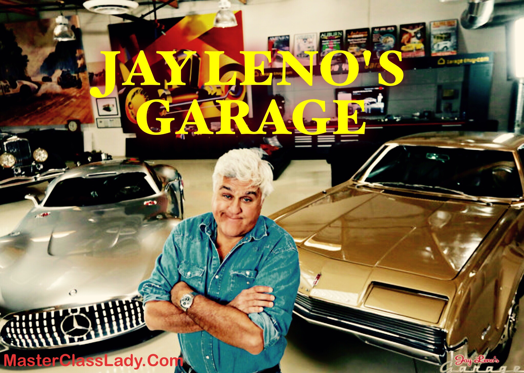 Jay Leno Returns To Television With Jay Leno S Garage On Cnbc