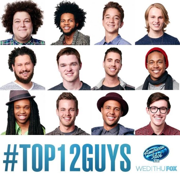 American Idol Season 14 Top 12 Guys