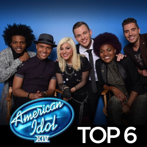 American Idol Season XIV Top 6 Singers