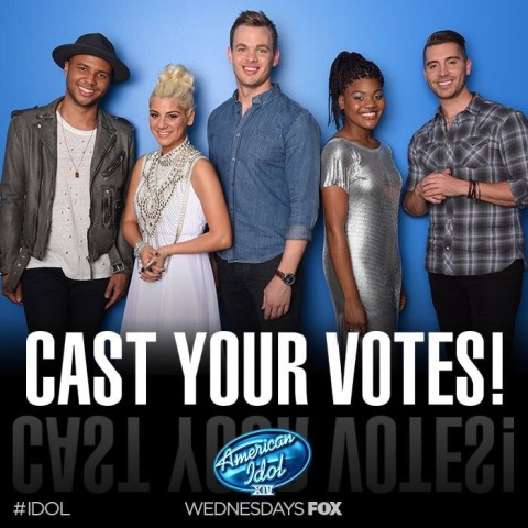 American Idol Season XIV Top 5 Singers