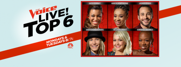 The Voice Season 8. Top 6 Singers