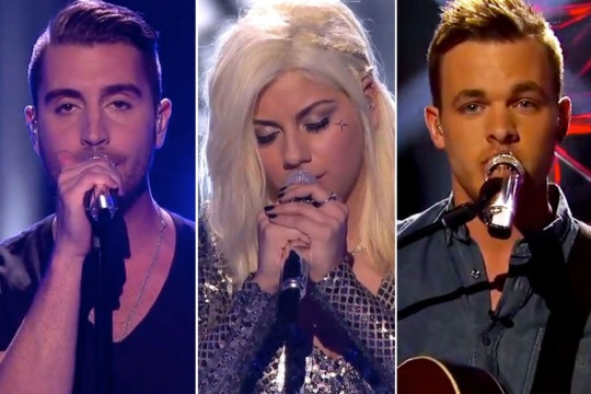 American Idol Season XIV Top 3 Singers