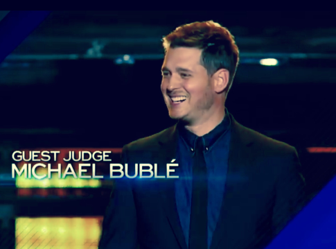 Michael Buble, Amsrica's Got Talent 2015