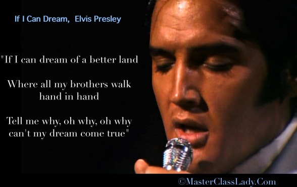 Elvis Presley, If I Can Dream, Royal Philharmonic Orchestra