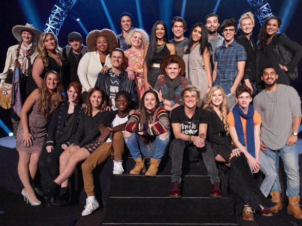 American Idol Season 15 Top 24 Semi-Finalists