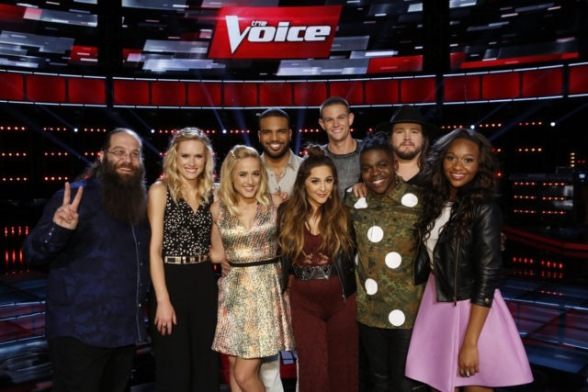 The Voice Season 10 Top 9
