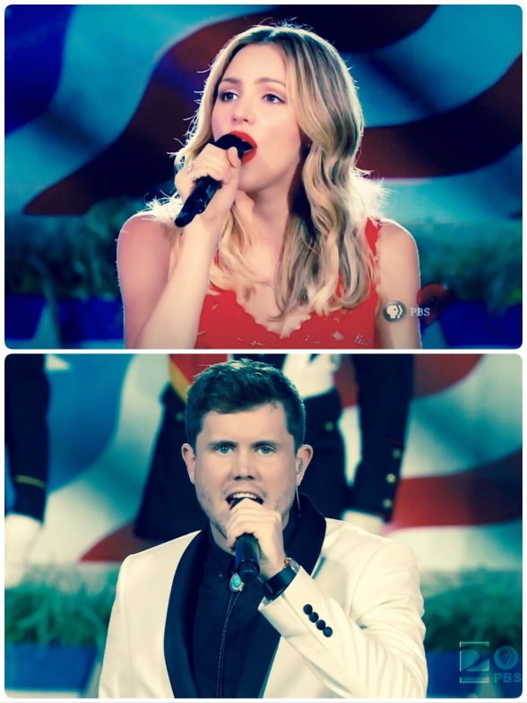 Katharine McPhee, Trent Harmon, National Memorial  Day Concert 2016