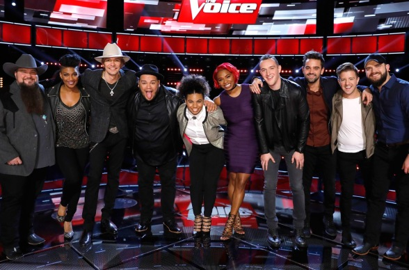 The Voice Season 11 Top 10 Show