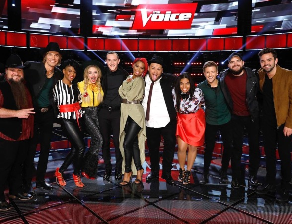 The Voice Season 11 Top 11