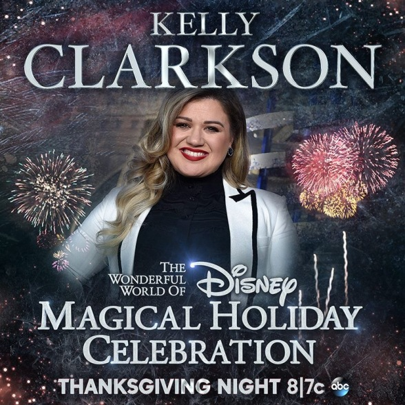 Disney Magical Holiday Celebration, Kelly Clarkson