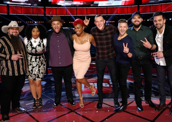 The Voice Season 11 Top 8