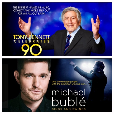 Michael Buble, Tony Bennett
