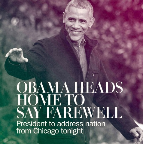 President Barack Obama's Farewell Speech In Chicago