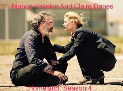 Homeland, Season 4, Mandy Patinkin and Claire Danes