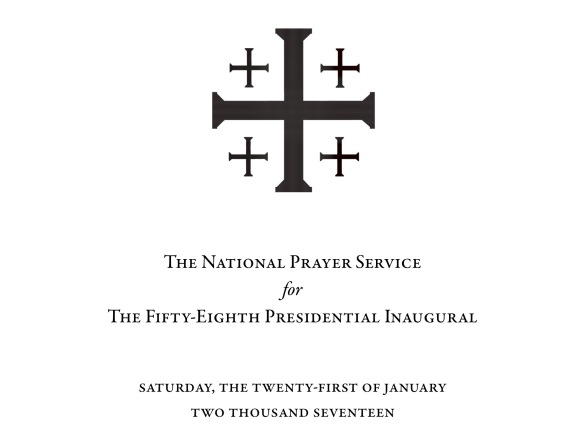 National Prayer Service, Presidential Inauguration  2017
