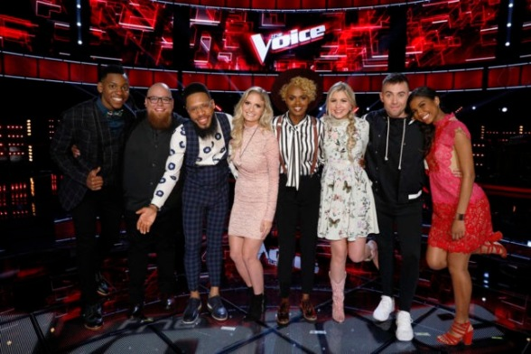 The Voice Season 8 Top 8/Semi-Finals