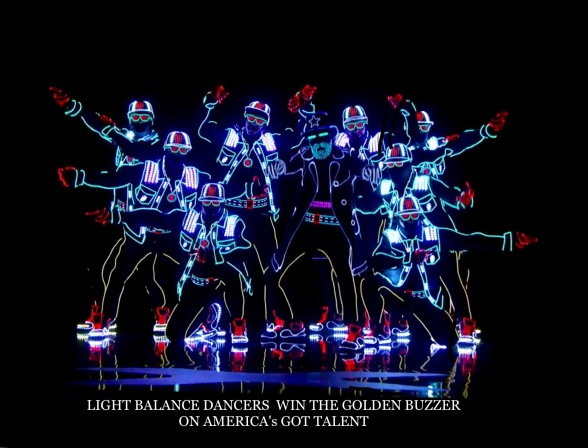 Light Balance Dancers, Golden Buzzer, America's Got Talent