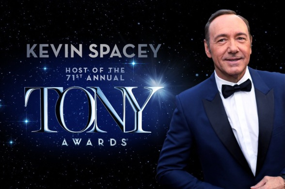 Sunday TV Event: 71st Annual Tony Awards Set To Dazzle You On CBS With Kevin Spacey As Host