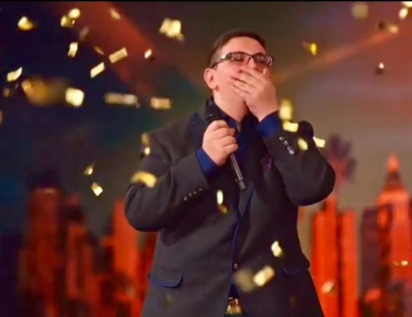 Christian Guardino, Golden Buzzer