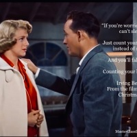 MasterClass Thanksgiving Monday: Count Your Blessings From The Film White Christmas Performed by Bing Crosby And Rosemary Clooney