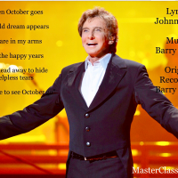 """MasterClass Monday: Barry Manilow's Heartfelt Recording Of The Mercer/Manilow Classic """"When October Goes"""""""