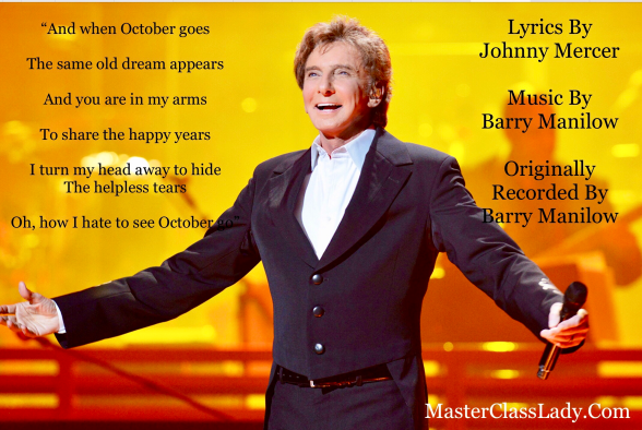MasterClass Monday: Barry Manilow's Heartfelt Recording Of The Mercer/Manilow Classic