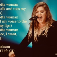 MasterClass Monday: Kelly Clarkson Dazzles With Whole Lotta Woman From Her New CD - Meaning Of Life