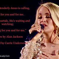 MasterClass Monday: Carrie Underwood's Emotional And Moving Musical Tribute To Late Country Music Stars And The Victims In The Las Vegas Tragedy