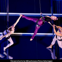 MasterClass Monday: Pink Performs An Aerial Choreographed Version Of  Her Hit, Beautiful Trauma