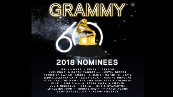 60th Annual Grammy Awards To Air On CBS Live At Madison Square Gardens