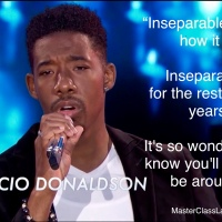 MasterClass Monday: Marcio Donaldson Sings Inseparable On American Idol Top 24 Solo Performance Show