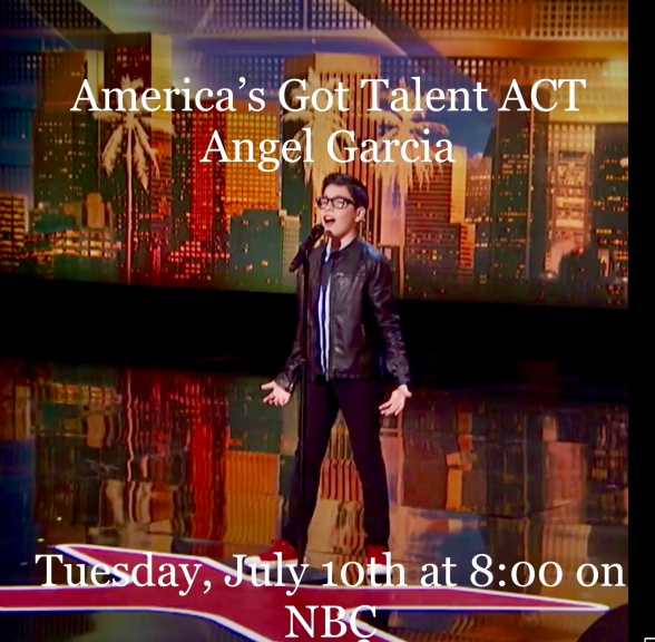 Performance MasterClass Discussion For America's Got Talent Season 13: Preliminary Auditions Continue , Angel Garcia