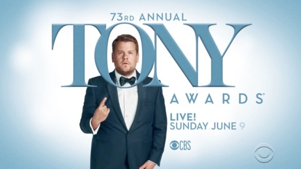 Sunday TV Event: 73rd Annual Tony Awards Set To Dazzle You On CBS With James Cordon As Host