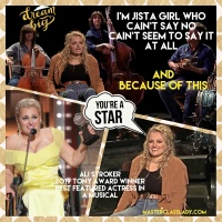 MasterClass Monday: Tony Award Winner And Role Model Ali Stroker