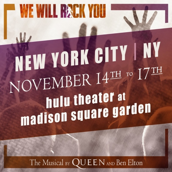 North'American Tour Of We Will Rock You Hits The Big Apple